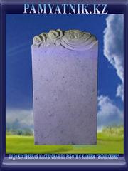 Памятники из белого мрамора с рельефом. Цена 42000 тг. - Кокшетау - foto 1