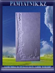 Памятники из белого мрамора с рельефом. Цена 42000 тг. - Кокшетау - foto 2