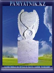 Памятники из белого мрамора с рельефом. Цена 42000 тг. - Кокшетау - foto 4