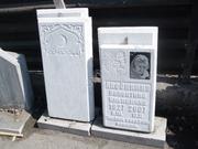 Памятники из белого мрамора с рельефом. Цена 42000 тг. - Кокшетау - foto 5
