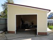Строительство гаражей и пристроек.