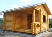Строительство бани из блока,  сруба и бруса. - foto 3