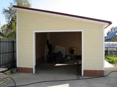 Строительство гаражей и пристроек. - main